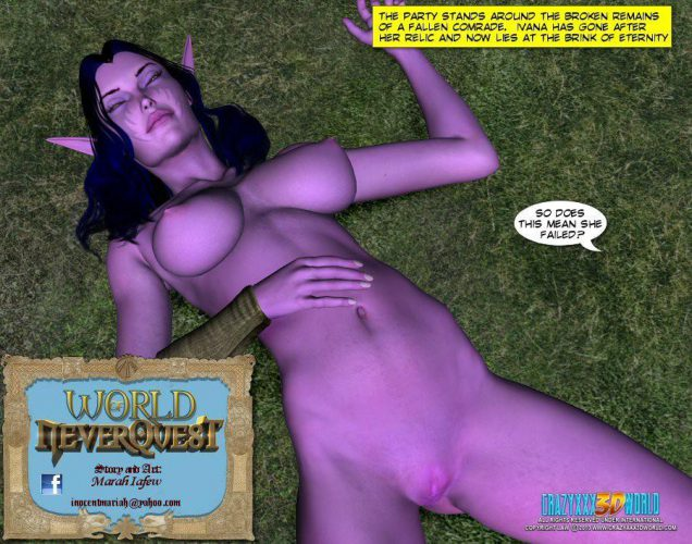 Adult XXX fantasy comic