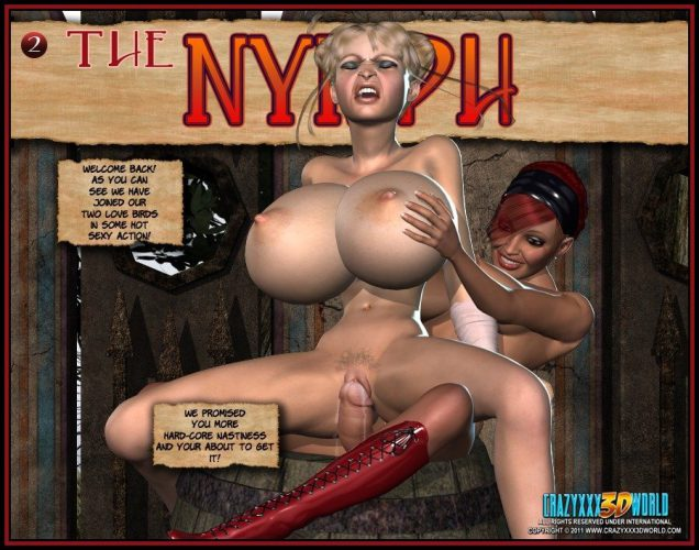 Crazy XXX 3D World Presents: Nymph 3