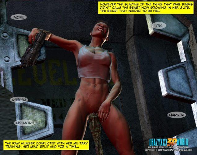 Crazy XXX 3D World Presents: Sci-Fi porn comic