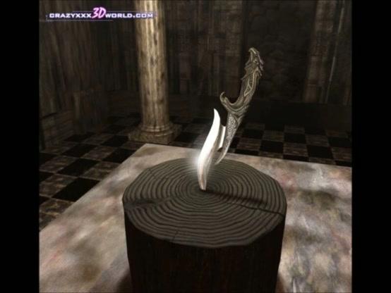 3D Comic: The Magic Knife