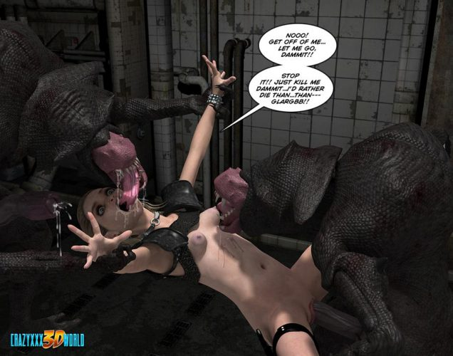 Weird XXX fantasy comic