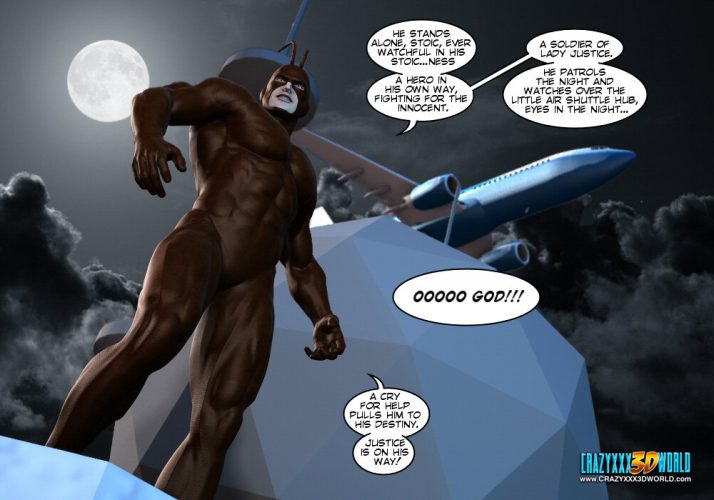 XXX 3D Comic: The Cockroach