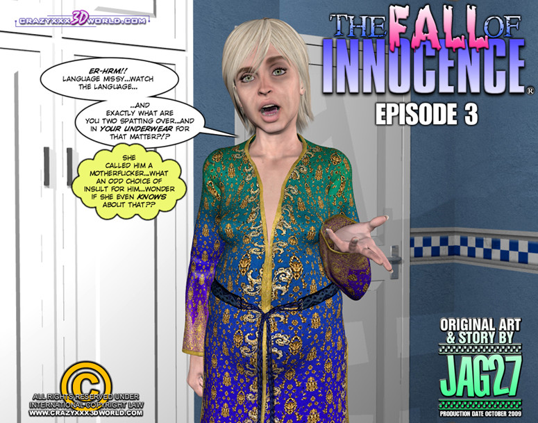 Crazy XXX 3D World Present: The Fall Of Innocence Episode