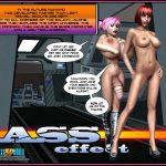 Crazy XXX 3D World Present Sci-fi Comic
