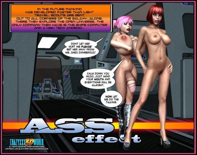 sci-fi porn comic