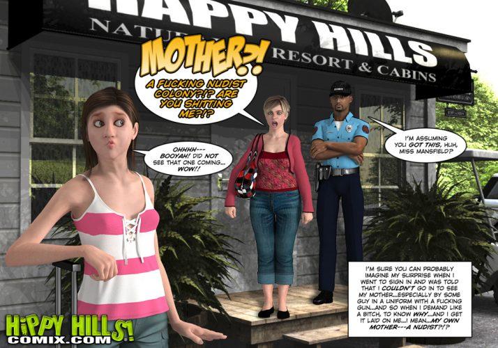 Hippy Hills comics